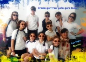foto Pepa Martín y alumnos